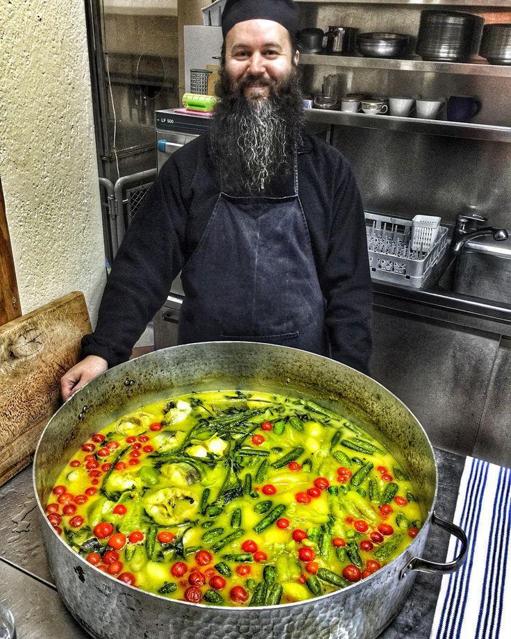 Ιερά μόνη Παναγίας Δοβρά στην Βέροια  #cook #cooking #food #kitchen  #monastery…
