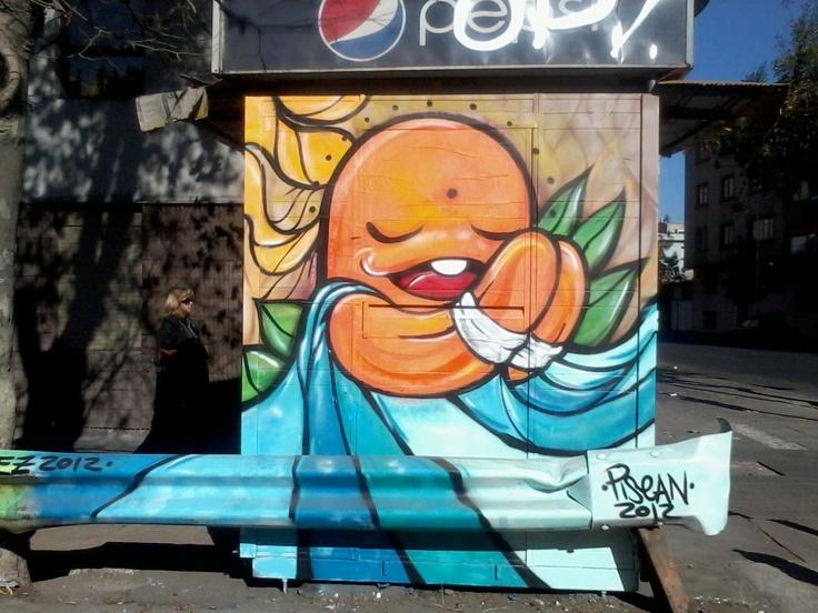 Praying....... Graffiti