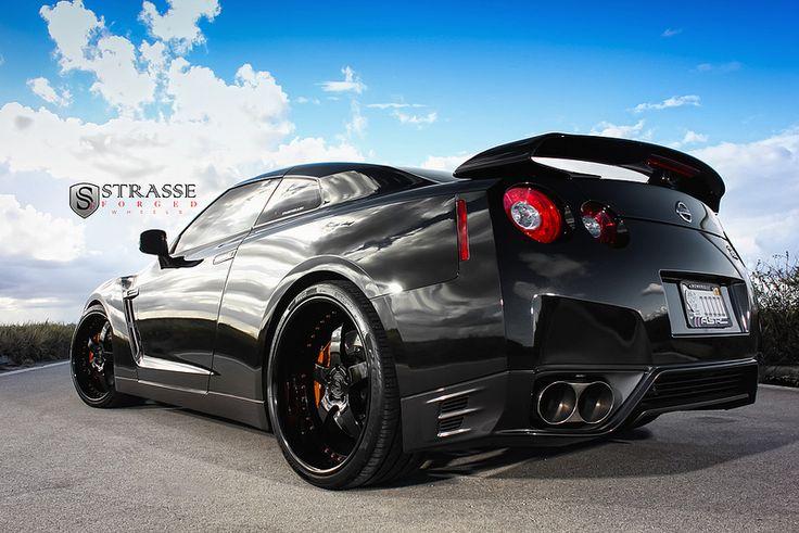 "Strasse Forged Nissan GTR | 2012 Nissan GTR 22"" Strasse S5 w… | Flickr"