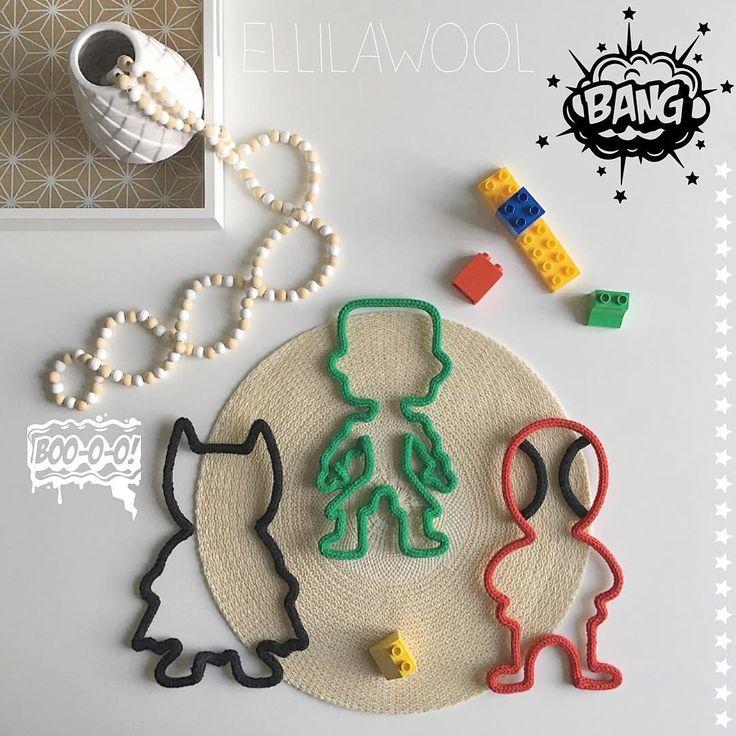 Le gang des mini Marvel vous souhaite une bonne soirée  #tricotin #laine #wool #cadeau #naissance #baby #babyboy #boy #marvel #mini #batman #hulk #spiderman #home #decoration #instadeco #babyroom #creation #handmade #faitmain #madeinfrance