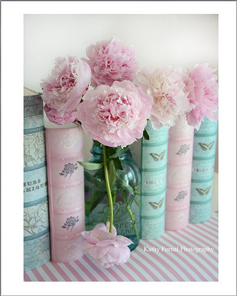 pink peonies mason jar baby girl nursery decor girl nursery dec