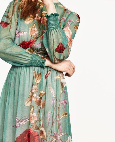 Fabulous Groene lange jurk zara – Populaire jurken uit de hele wereld @CG41