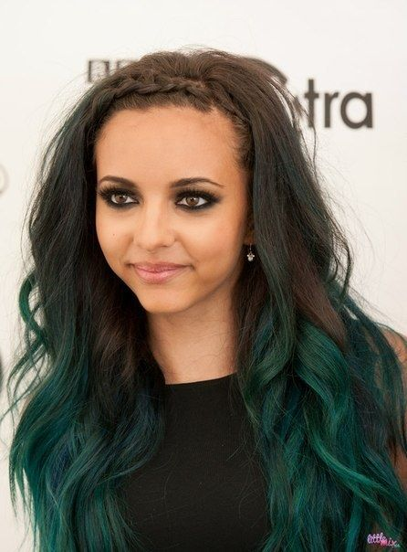 dark green ombre hair - Google Search