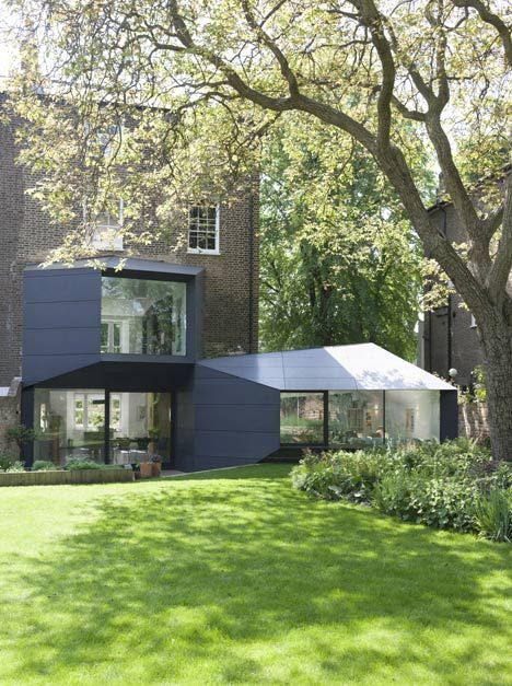 Extension by Alison Brook Architects.