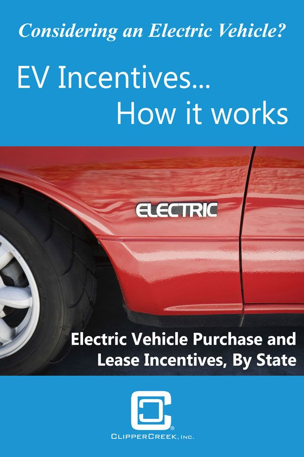 Considering An Electric Vehicle There Are Many Incentives And Rebates For The Purchase Of Ev Comprehensive List By Us State