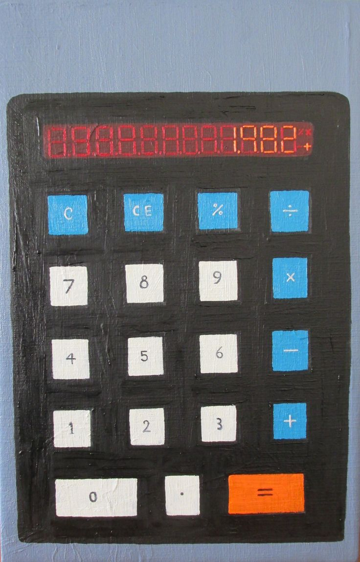 """Italo Contador """"Calculadora N°1"""" 2013"""