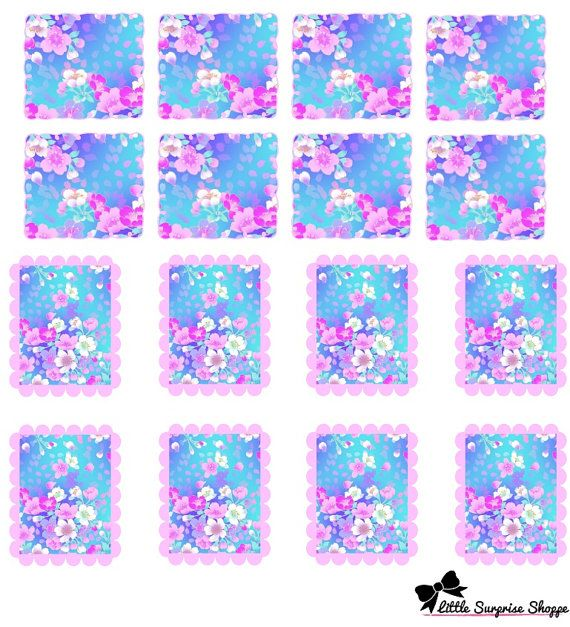 Small squares fit EC day in a month square Larger Rectangle fit EC day in a week column ****IMPORTANT***** Does not come with tracking number,