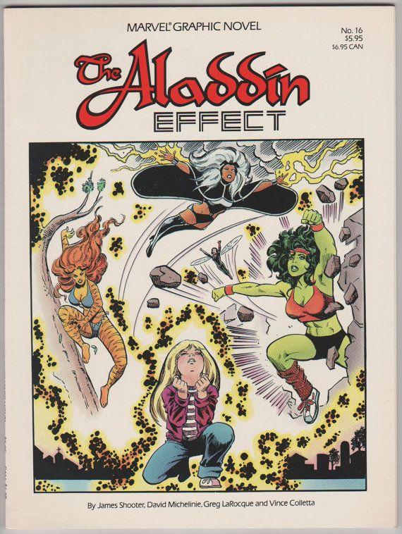 Marvel Graphic Novel V1 16 The Alladin by RubbersuitStudios, $8.00