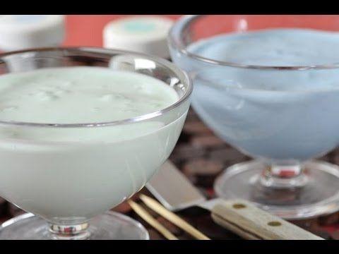 Royal Icing Recipe and Demonstration - Joyofbaking.com (with vanilla)