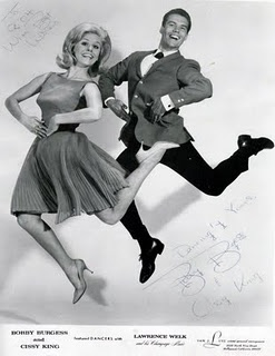 Bobby & Cissy from the Lawrence Welk Show. Goofy stuff!