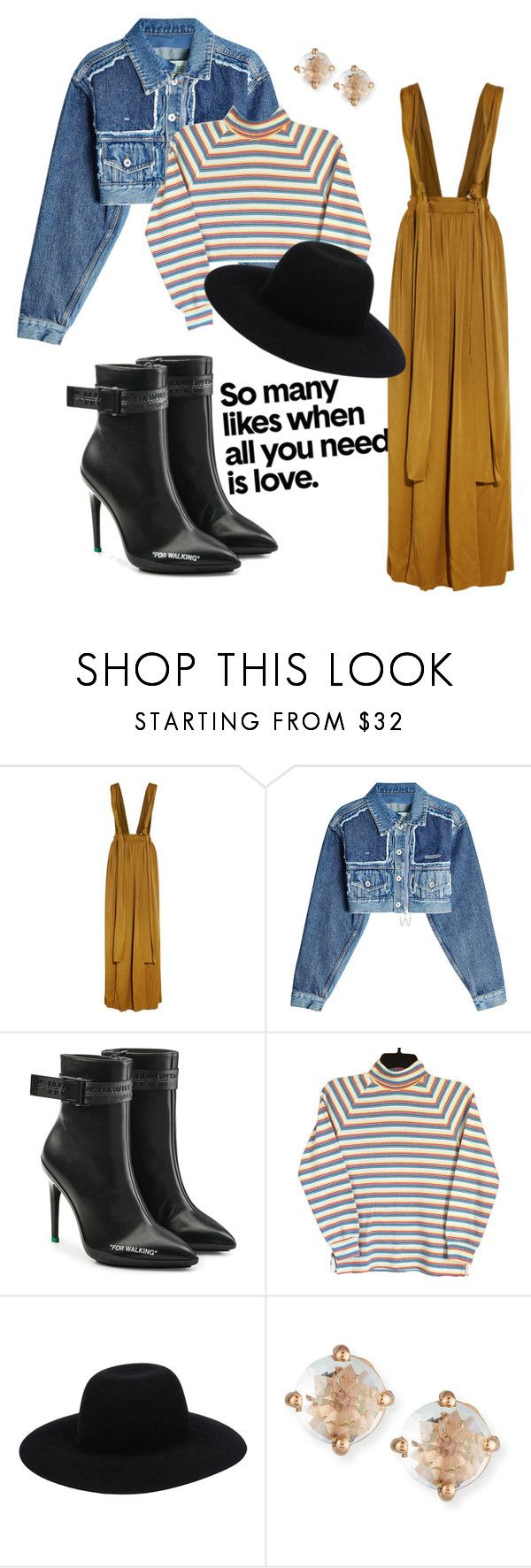 """""""reality kings"""" by its-imani-tho ❤ liked on Polyvore featuring Lanvin, Off-White and Suzanne Kalan"""