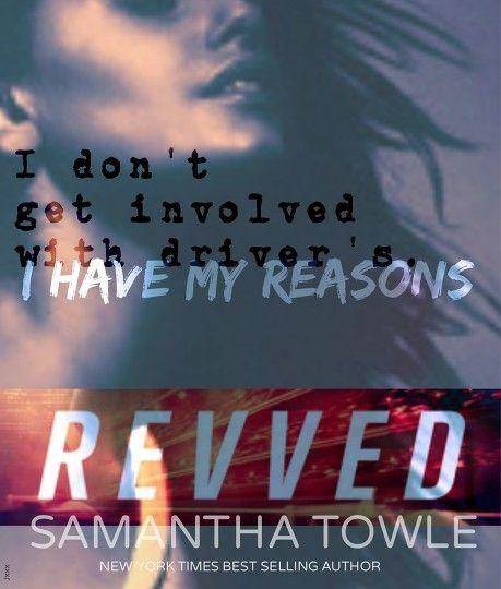 """""""Eu não me envolvo com pilotos. Eu tenho minhas razões) - Andi Amaro em Revved by Samantha Towle."""