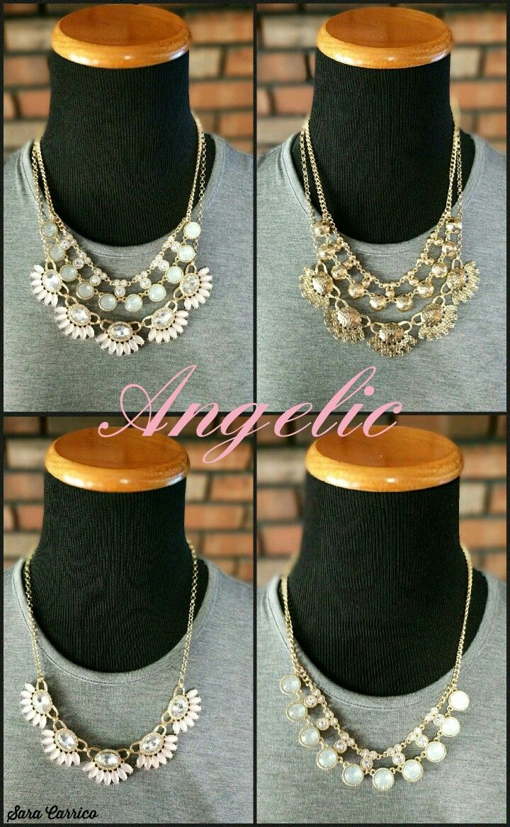 Angelic Necklace. Premier Designs Jewelry. Saracarrico.mypremierdesigns.com #pdstyle #premiereveryday