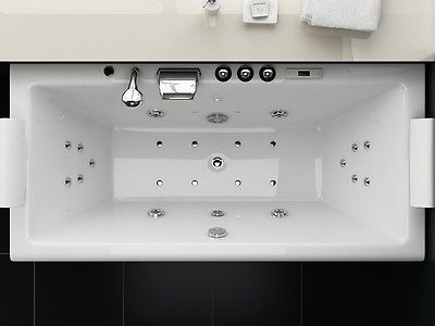 ber ideen zu whirlpool badewanne auf pinterest. Black Bedroom Furniture Sets. Home Design Ideas