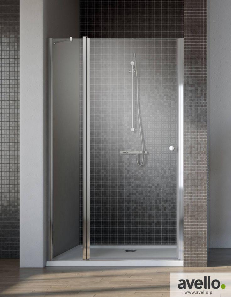 Drzwi prysznicowe wnękowe Eos II DWJ firmy Radaway.