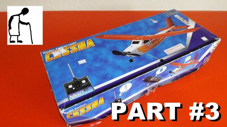 awesome Nikko RC Cessna Charity Shop Find Part #3