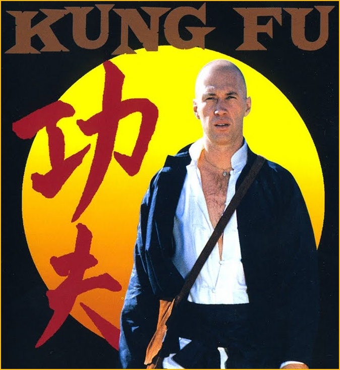 Kung Fu (Serie de TV) . Me encantaban los momentos de sabiduría junto al maestro.  Los guionistas estaban asesorados por auténticos monjes Shaolín.  http://es.wikipedia.org/wiki/Kung_fu_%28serie_de_televisi%C3%B3n%29  http://www.imdb.es/title/tt0068093  http://www.youtube.com/watch?v=gEtKj6keoYU  http://www.youtube.com/KungFuSeries  [Mis Series de TV Favoritas]