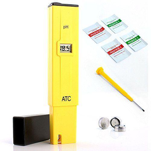 Neuftech® stylo numérique PH Mètre Testeur Lecteur type de compteur pH Testeur Aquarium Piscine d'eau hydroponique Laboratoire PLANTES…
