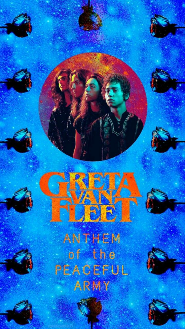 Greta Van Fleet Anthem Of The Peaceful Army Wallpaper Band Wallpapers