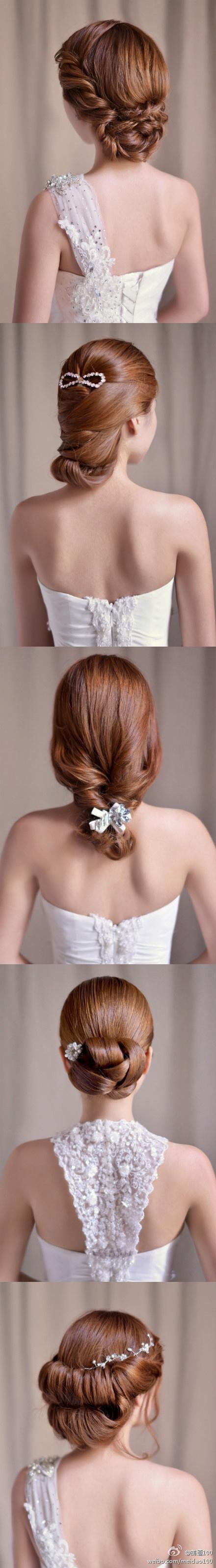 5 hair ideas for wedding
