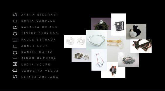 11 joyeros colombianos exhiben sus trabajos donde aceptaron el reto de explorar el concepto de lo ritual a través de la expresión plástica de una joya.