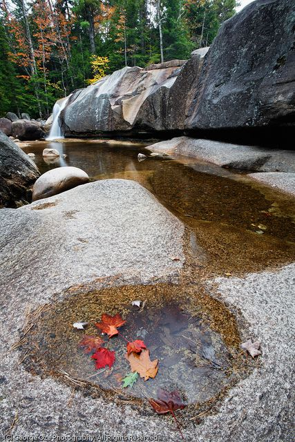 Pools of Lower Diana's Bath, New Hampshire