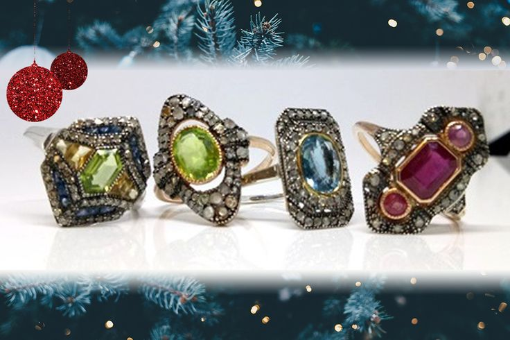 Put something spectacular under the tree for her this year with a ring from our Fine Jewellery Online Auction 💍