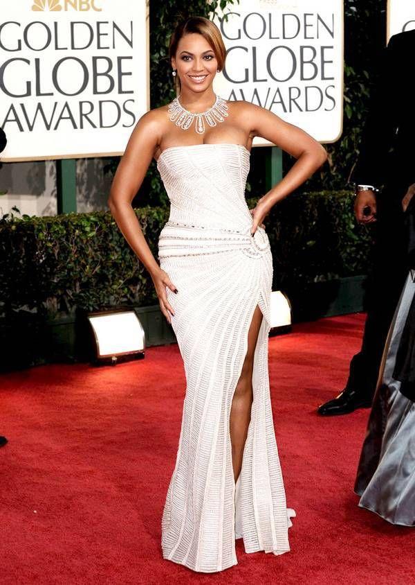 Beyonce red carpet dresses 2014