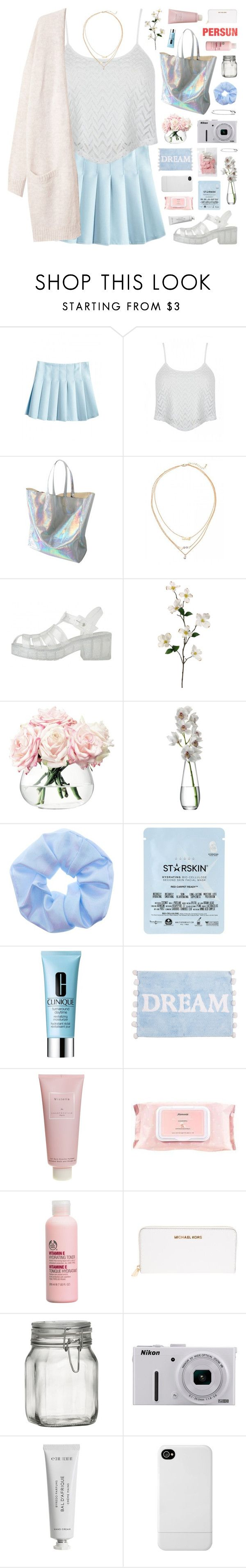 """""""Persunmall 1"""" by novalikarida ❤ liked on Polyvore featuring LSA International, Starskin, Clinique, Zara Home, Chantecaille, Mamonde, The Body Shop, Michael Kors, Crate and Barrel and Nikon"""