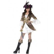 Vrouwelijke Piraat Outfit Vrouw