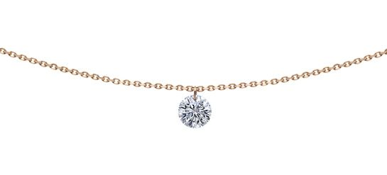 Le pendentif diamant 360° de La Brune et La Blonde http://www.vogue.fr/joaillerie/le-bijou-du-jour/diaporama/le-pendentif-diamant-360-de-la-brune-et-la-blonde/17374