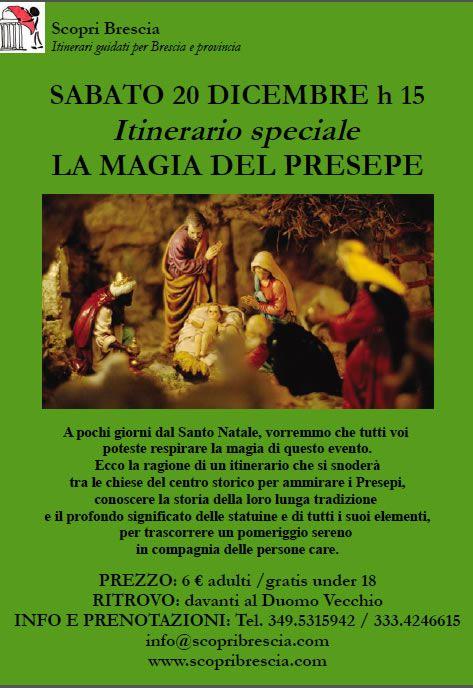 La Magia del Presepe con Scopri Brescia http://www.panesalamina.com/2014/31408-la-magia-del-presepe-con-scopri-brescia.html