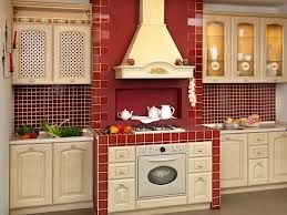 FOR MY KITCHEN FARMHOUSE COUNTRY  red country kitchen - Google Search