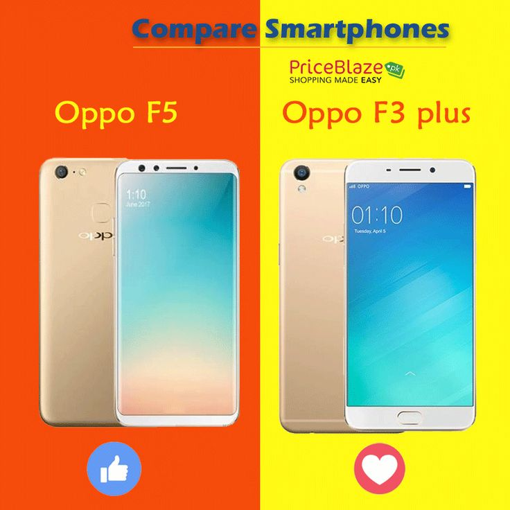 Is Oppo F5 better or F3 plus? Confused? Compare at #priceblazepk  vist: http://ow.ly/conB30hGwCz  #Oppo #Smartphones #Compare #Mobiles #Samsung #Apple #Iphone #Huawei #Qmobile #Onlineshopping #LG #Nokia #haier #htc #motorola #Sony #voice #mobilephone