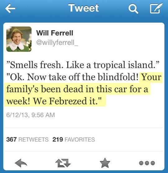 Smells like a tropical island…