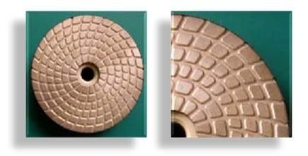Metal Polishing Pad   made of genuine metal like grinding cup wheels, and specially designed for aggressive polishing & grinding at early working stages. Feautring of longevity and aggressive working performance. Ideal for spot grinding on stones as well as concrete.  http://www.gobizkorea.com/catalog/product_view.jsp?blogId=stonetools&pageVol=50&listStyle=L&objId=1024788 Following is our online catalog supported by Korea government;  http://stonetools.gobizkorea.com sales@stonetools.co.kr…