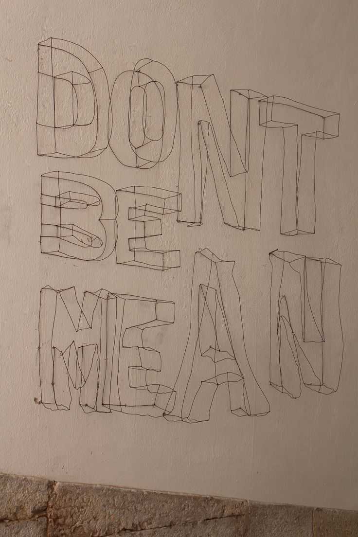 Don't be mean! Lisbon July 2014