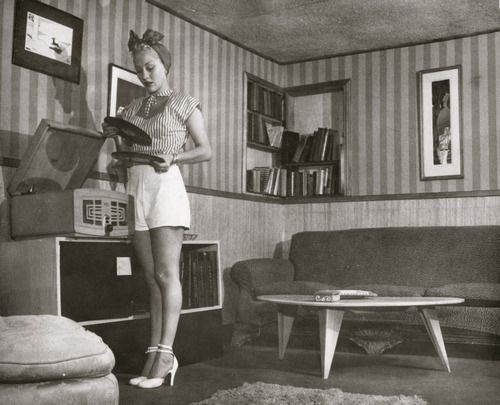 Living Room 1950s 702 best 1950s decade images on pinterest | vintage photos, black