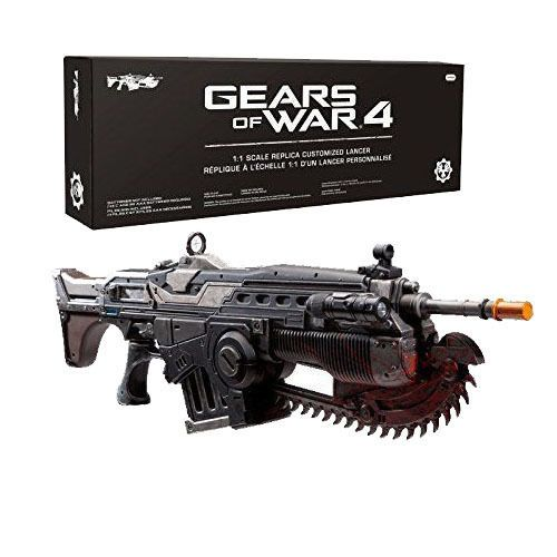Gears of War 4 Prop Replica Customized Lancer Not Machine Specific Brand NEW #PDP