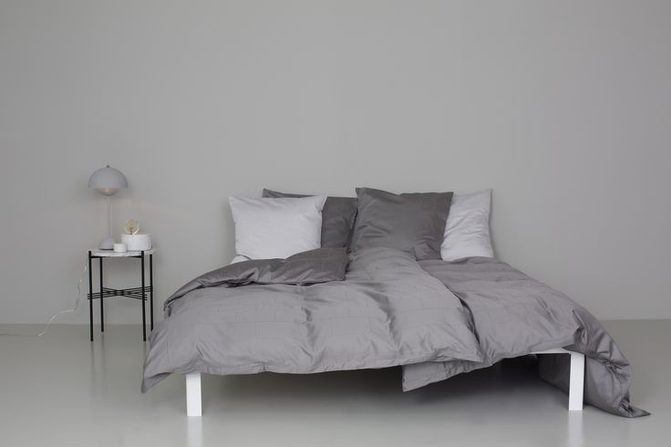 "BED LINE ""TILES"" JACQUARD WOVEN COTTON SATIN IN HIGH QUALITY - Louise Roe SIZE 140X200//140X220/200X220 PILLOWCASE 50X70//60X63 www.houseofbk.com"