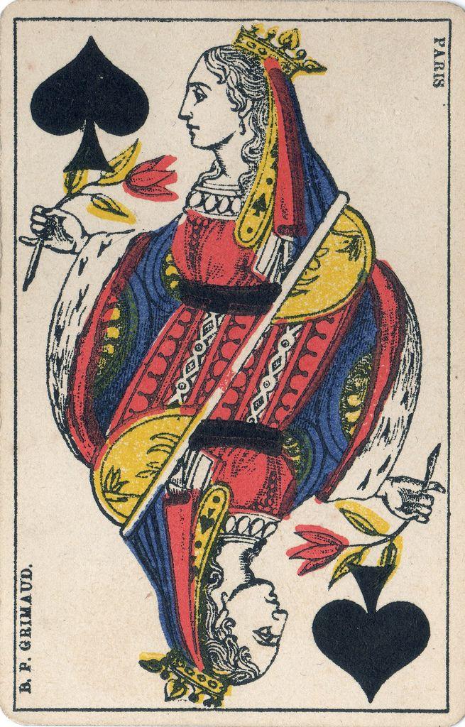 cartesbas010 в 2020 г.   Игральные карты, Старинные карты ...