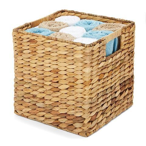 Woven Storage Basket - Square   Kmart $10