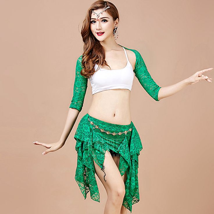 ==> [Free Shipping] Buy Best 2017 Women Belly Dance Costume Indian Dance Costumes 4pcs(ShawlVestHip ScarfLeggings) Bollywood Costume Danza Del Vientre Online with LOWEST Price | 32788186458