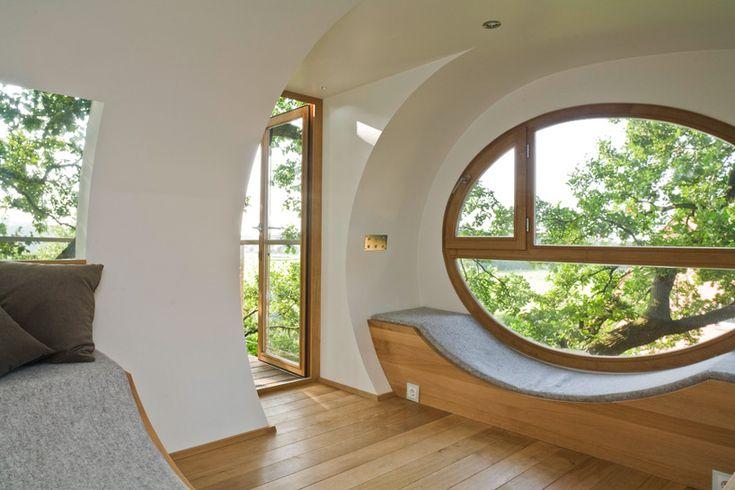 Baumraum-wooden-treehouse-djuren-07   Architektur   Pinterest ... Das Magische Baumhaus Von Baumraum