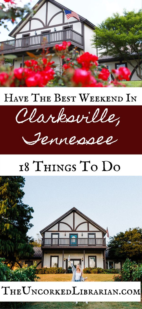 16 Bookish Boozy Activities In Clarksville Tn Weekend Trips Boozy Europe Weekend Trips