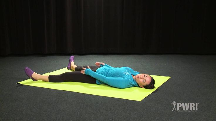 PWR! Physical Therapist Claire guides you though the Basic 4 PWR!Moves in the Supine position.