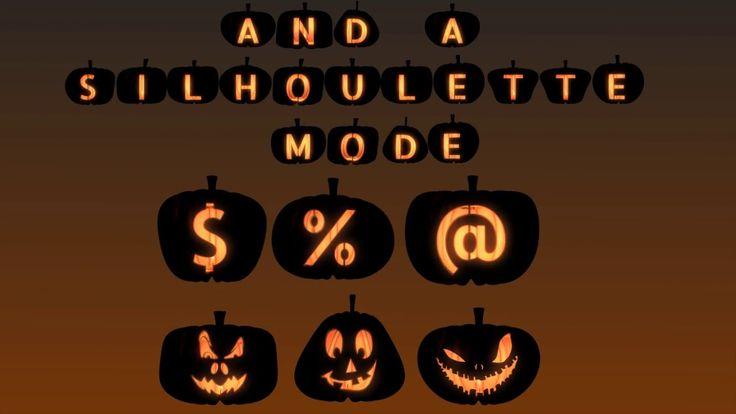 Pumpkin Letters Pack