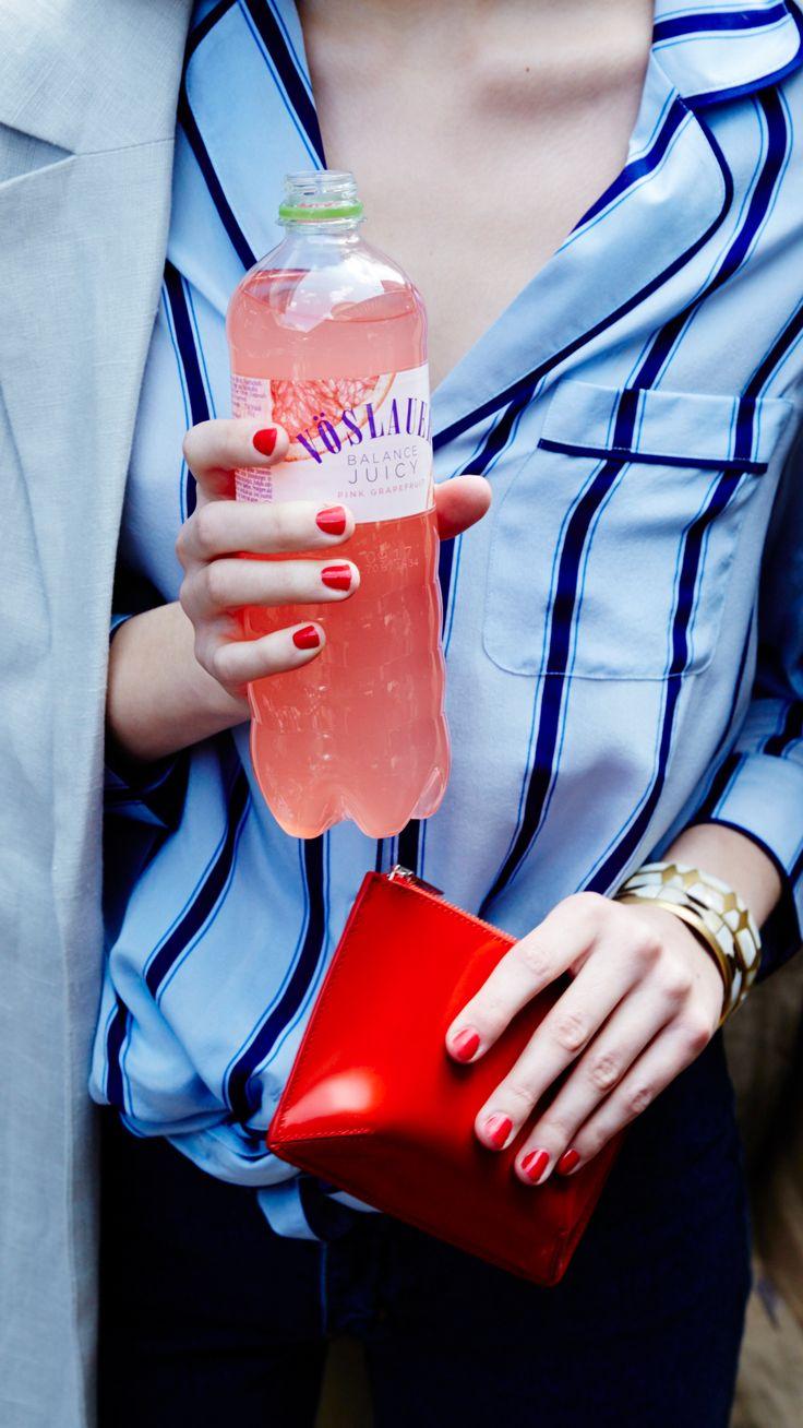 We love Pink <3 Vöslauer Balance Juicy Pink Grapefruit #vösaluer #vöslauerbalance #jungbleiben