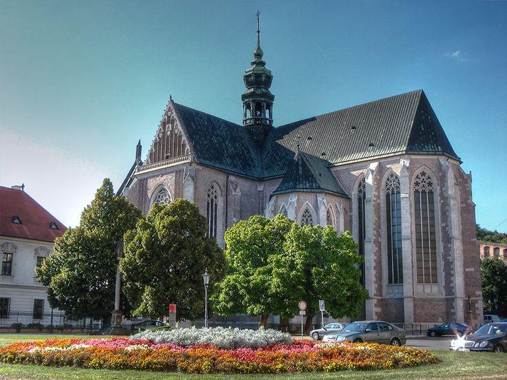 klášter cisterciaček (augustiniánů) s kostelem Nanebevzetí Panny Marie ( Brno, od roku 1323)