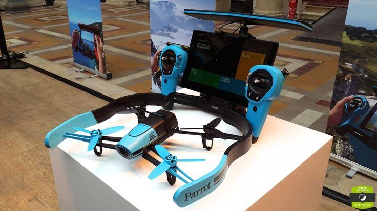 Parrot Bebop, un drone connecté